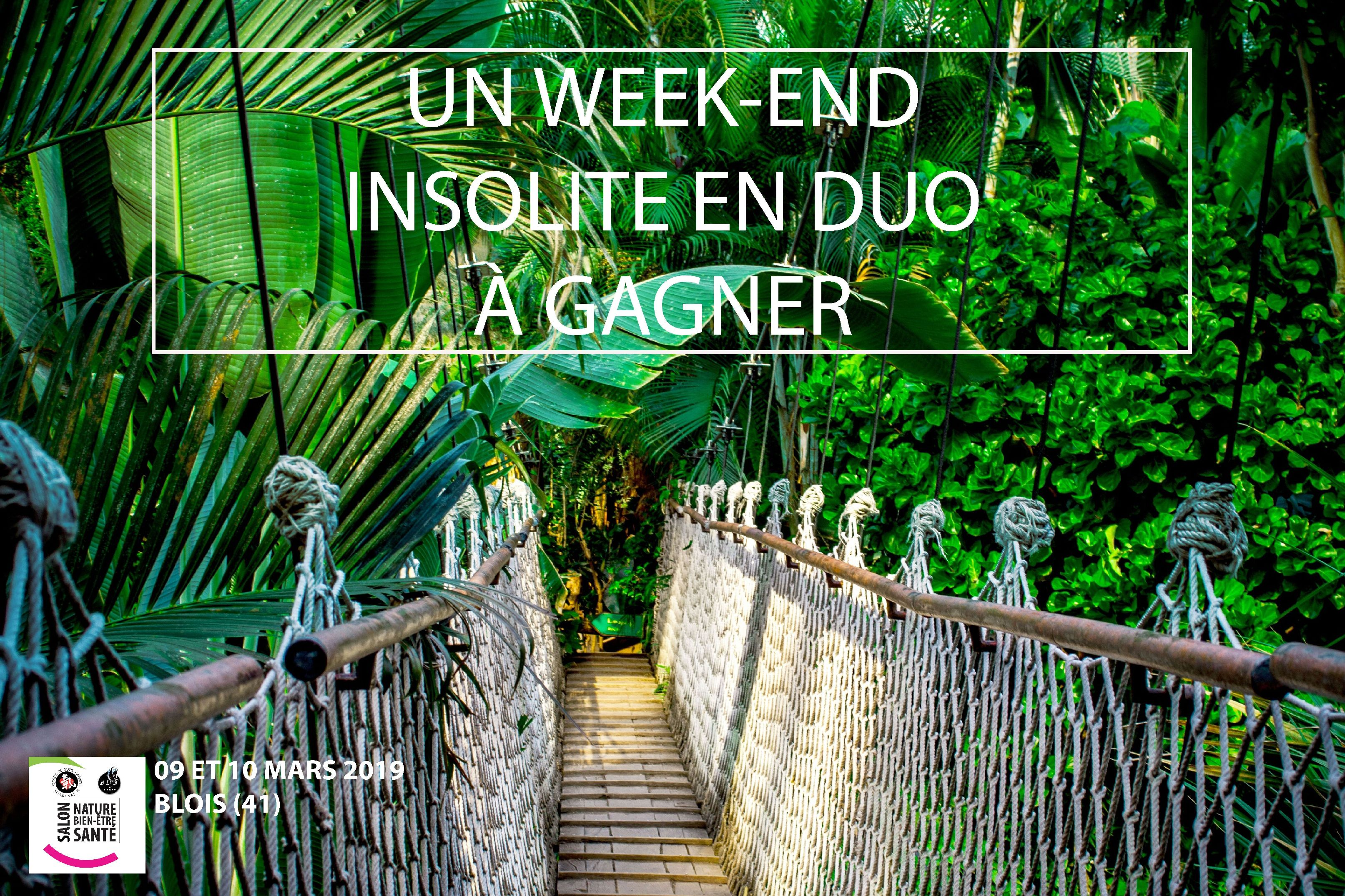 Le week-end arrive à grand pas !!!  gagnez un super 🤩🤸‍♀️🌿WEEK END INSOLITE EN DUO 🌿🤸‍♀️🤩,